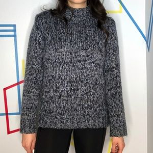 French Connection Blue Knit Sweater